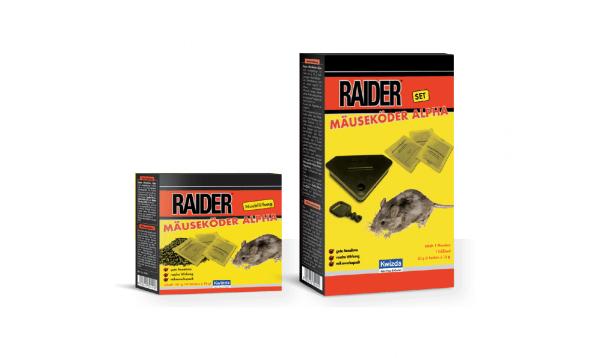 Raider Mäuseköder Alpha Set 50g