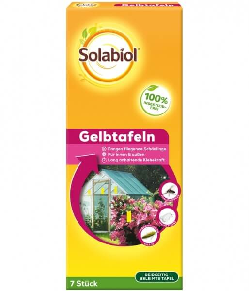 Solabiol Gelbtafeln 7 Stück