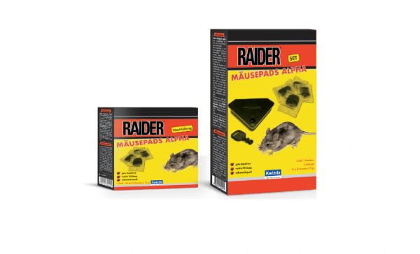 Raider Mäusepads Alpha Set 50g